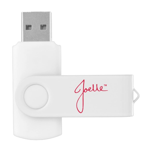 Blank Flash Drive (White) USB Flash Drive