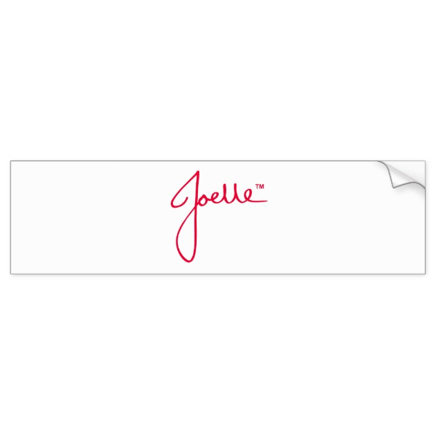 Bumper Sticker (White) Car Bumper Sticker