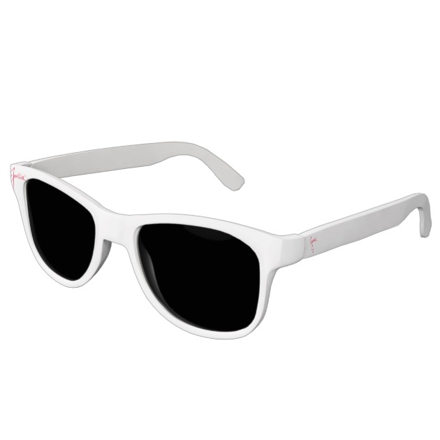 Polarized Smoke Sunglasses (White)